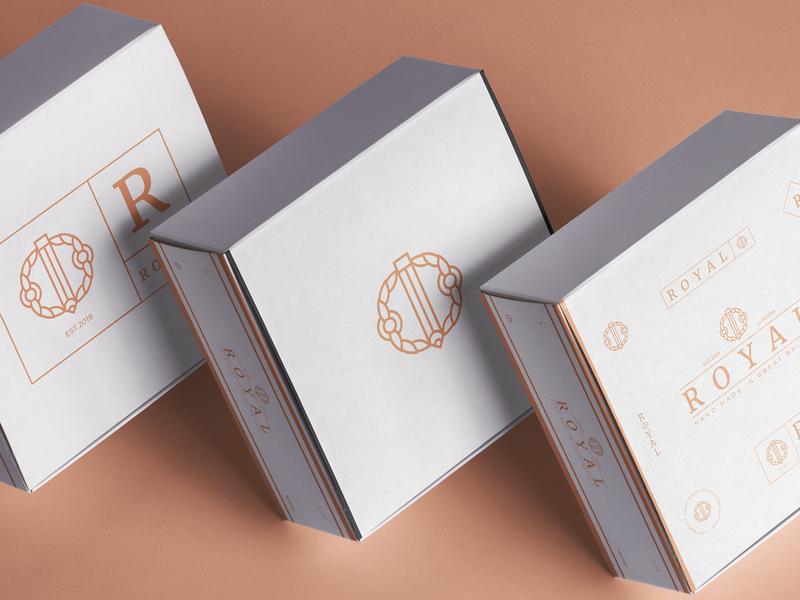 R O Y A L_pt.2 promo instagram packaging 2019 luxury layout typography illustration badge graphic design custom pencils product design box in situ visual branding packaging design logo nikola obradovic design