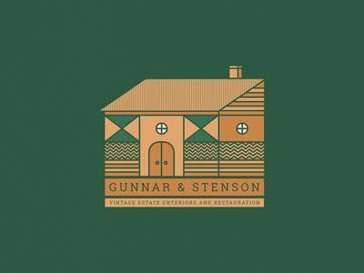 G&S Vintage Estate Illustration