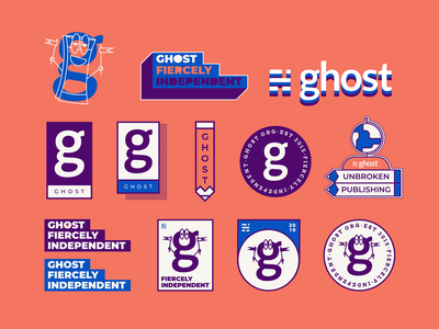 Ghost Sticker Set