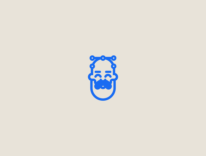 O N D S N serbia linear bold icon print sticker badge 2019 avatar ui illustration vector illustration freelance design freelancer web design graphic design vector branding character ondsn