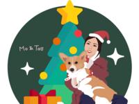 Tao the Corgi and Mo