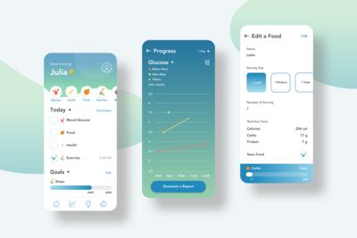 Type-1 Diabetes Self-Management Mobile App