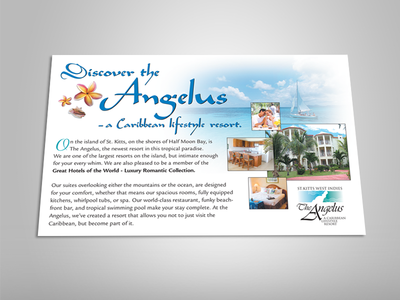 The Angelus Resort Postcard