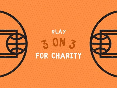 20 Inch Blades tesani sunshine heroes tournament charity 3 on 3 basketball court court orange basketball