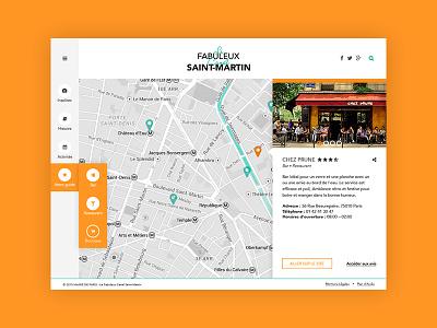 Web Design - Map ux app map ui webdesign