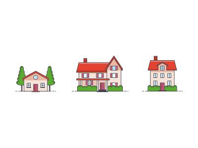 Icon - House house illustration icon