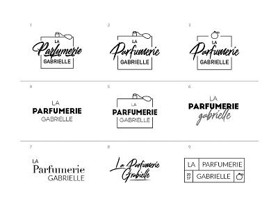 Logo - La Parfumerie Gabrielle perfume research design logo