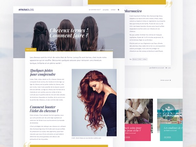 Web Design - Article article blog webdesign