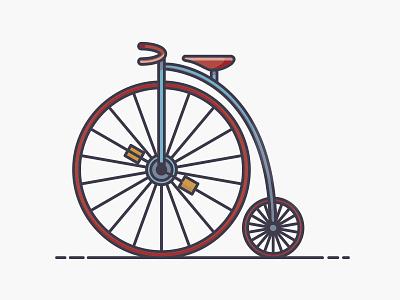 Icon - Bike bike illustration icon