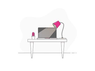 Illustration - Desktop desktop icon drawing illustration