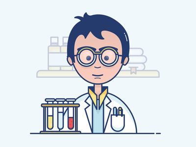 Illustration - Pharmacist
