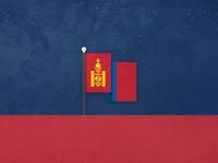 National Flag of Mongolia