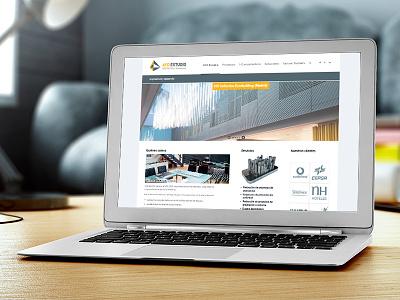 Responsive web design for AYD Estudio ux ui minimalism flat cms design architecture site macbook responsive wordpress web