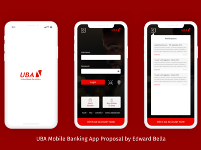 UBA Mobile Banking App Redesign