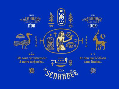 Le Scarabée - Branding