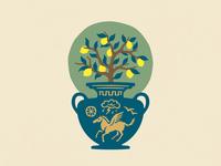 Arbutus Distillery — Limoncello Label (WIP)