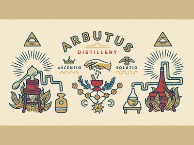 Arbutus Distillery — Mural Art