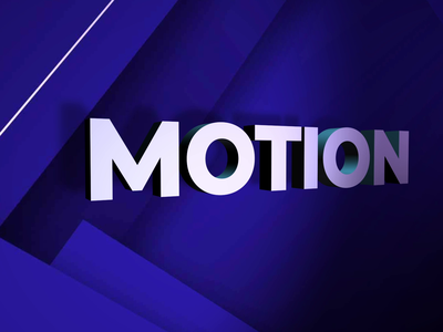 3D Text motion design 3dtext 3d motion animation after effects