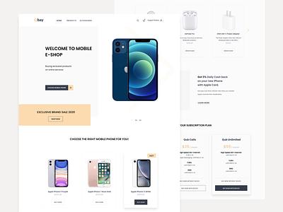 E-Commerce onlineshop shop ecommerce ecommerce app mobile shop user experience user interface uidesign ux uiux ui design