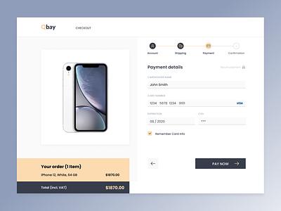 Checkout design web design order online shop ecommerce shop uidesign ui uxdesign ux  ui uxui uiux checkout website design