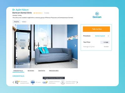 Webpage Design uxdesign ui design profile clinic medical ux uiux design ui