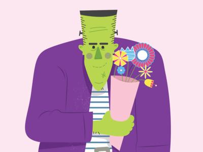 A Frankenstein Valentines