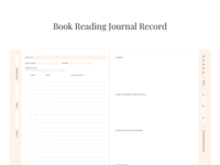 Book Reading record