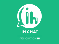 In-hour Chat Concept Logo