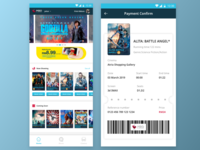MBO Cinema Apps Redesign Concept [WIP]