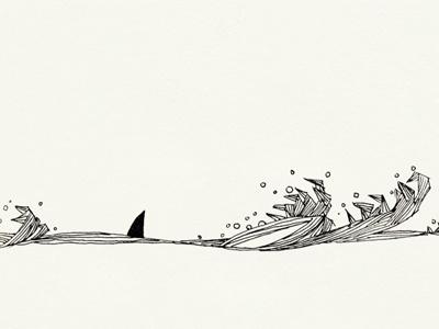 Sea Sight handdrawing illustration