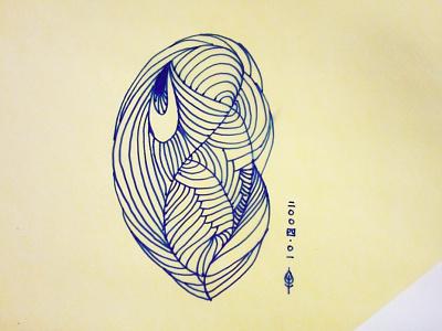 Peacock peacock hand-drawing illustration beijing china