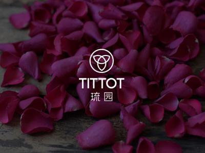 Tittot Logo Draft iii flower beijing china chinese tittot