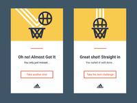 Success and fail cards