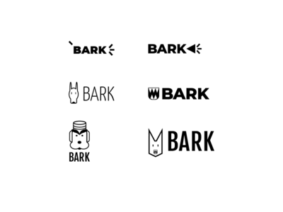 Bark logo design