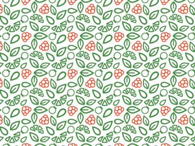 Raspberry tea blend package pattern packaging berry ai package tea fruit illustration pattern