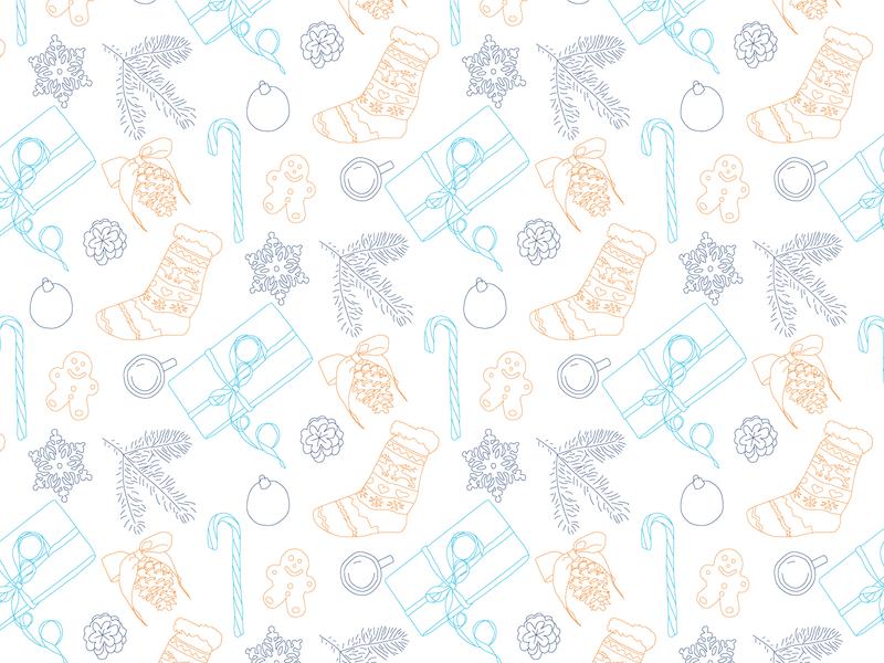 Xmas pattern pattern art patterns pattern branding vector illustration graphic design design