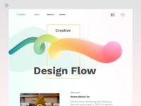 Creative Design Flow Website