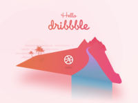 Finally, Hello Dribbble!