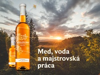 Včelovina original - Label design