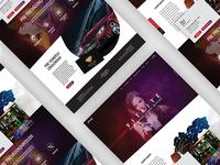 Mirage / Landing page