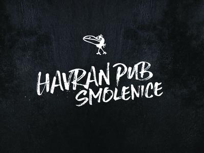 Havran pub  1/3 - LOGO
