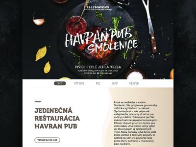 Havran pub 2/3 - WEBSITE