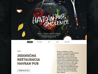 Havran pub 2/3 - WEBSITE