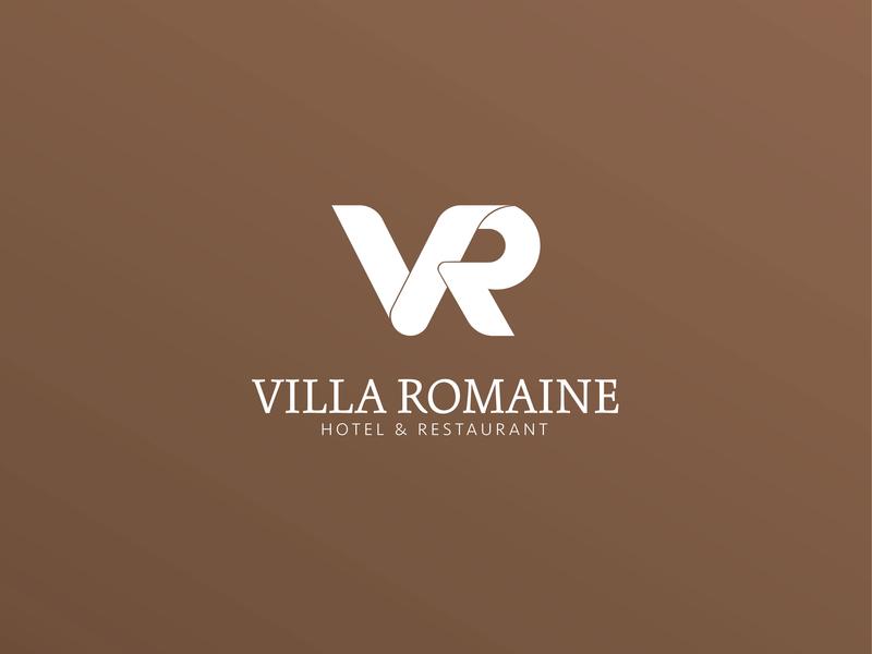 Villa Romaine - 2/3 - LOGO DESIGN