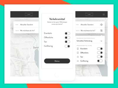 SOB - APP mobile transports tickets train design ux wireframe app
