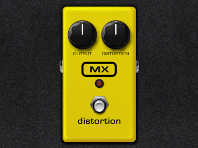 MX Distortion Pedal
