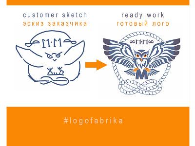 Logo for yachtsman design logofabrika identity brand logotype