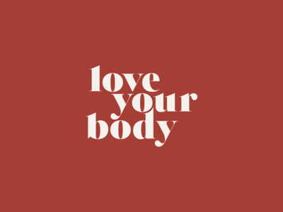 Love your body - Logo design