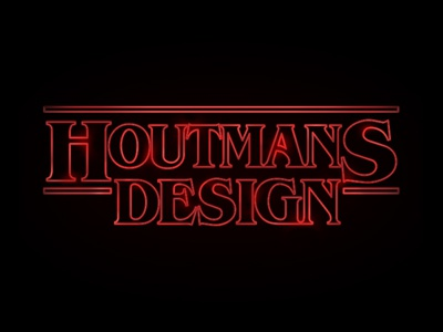 Houtmans Design Stranger Things like