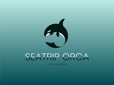 Seatrip Orca, since 1999 freelance designer illustrator adobe ai logofolio design logo since trip sea orca